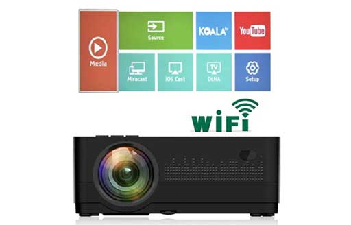 best projectors in india under 20000