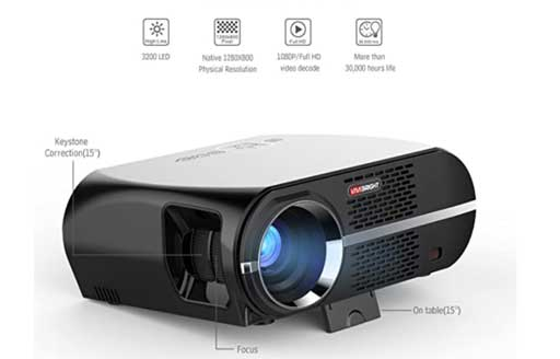 best projectors in india for home under 20000